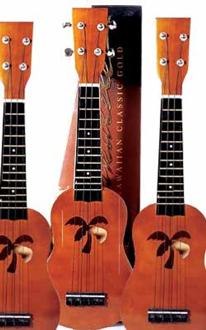 'The Hawaiian Classic Gold' Premium Ukulele
