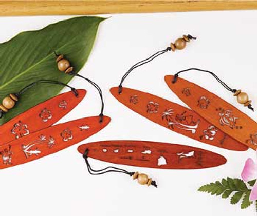 Hawaii Wood Bookmarks