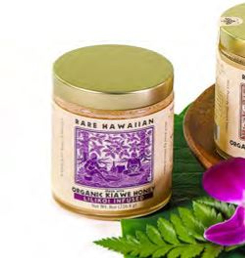 Rare Hawaiian Organic Keawe Honey - White Lilikoi Infusion