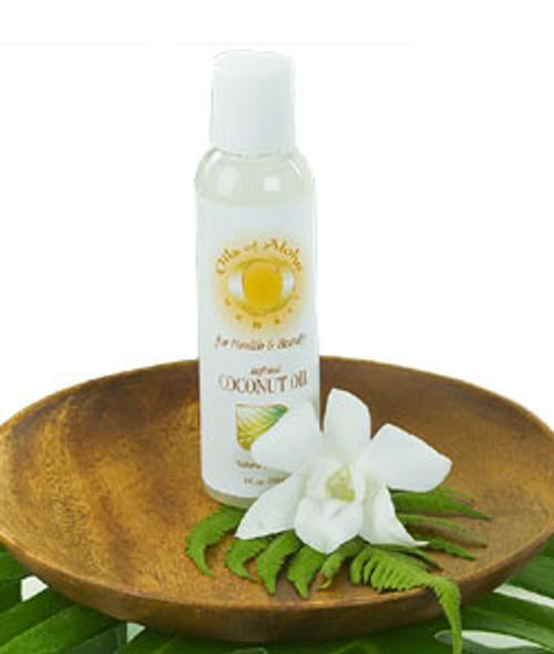 Organic Coconut Oil by Oils of Aloha