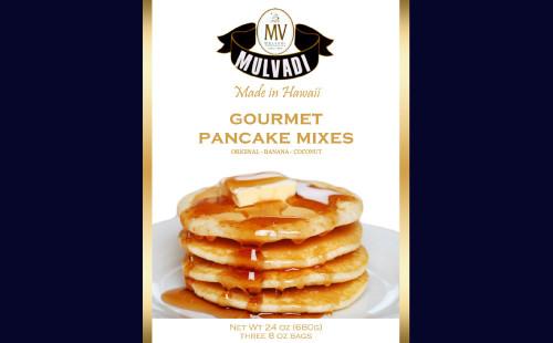 Mulvadi Gourmet Pancake Mix 3 Pack Gift Set