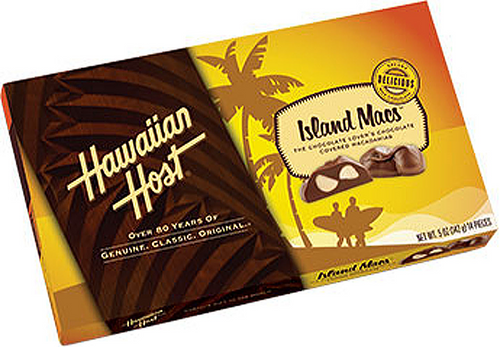 Hawaiian Host Island Macs Chocolate Covered Macadamia Nuts, created exclusively for ABC Stores, features halved and whole pieces of Macadamia enrobed in Hawaiian Host's silky smooth chocolate.