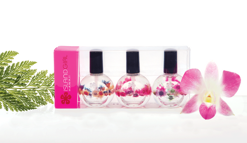 Island Girl® Hawaii Softly Scented Cuticle Oil 3 Pack