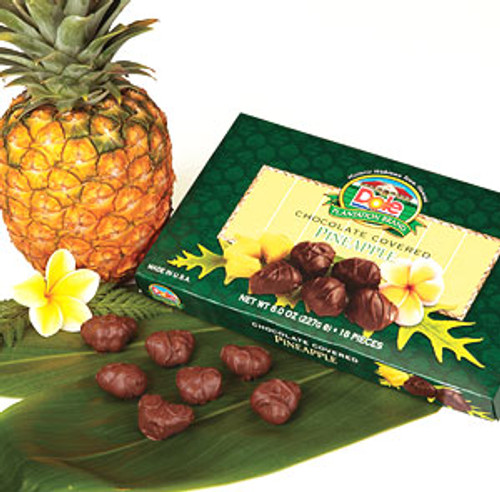 Dole Plantation Chocolate Covered Pineapple