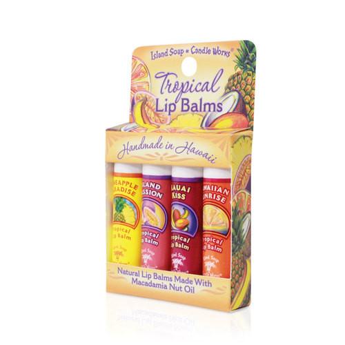 Island Soap - Lip Balm 4 Pack