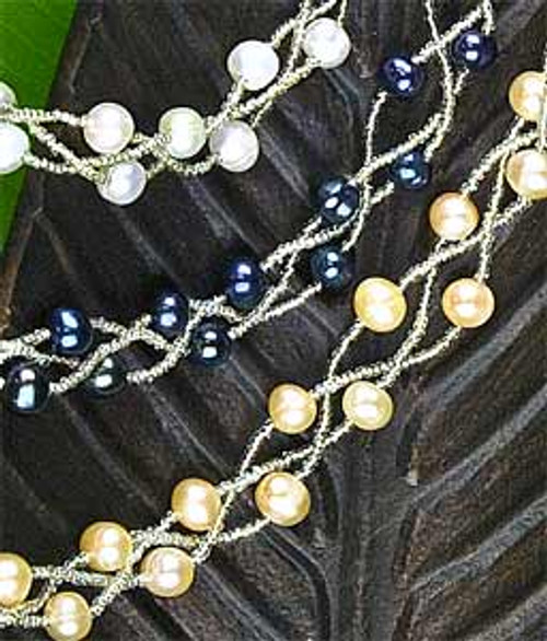 Twisted Torsade Freshwater Pearl Collection