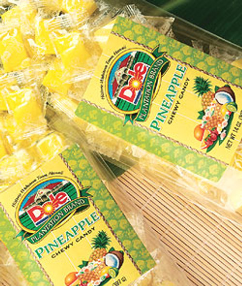 Dole Plantation Pineapple  Chewy Candy