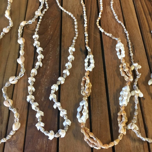 Assorted Varieties of Shell Lei Necklace