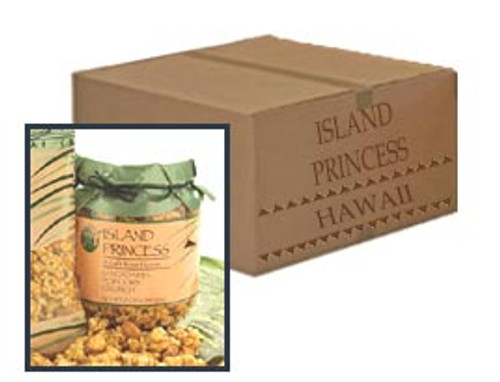 Island Princess Popcorn Crunch Tub Six Pack