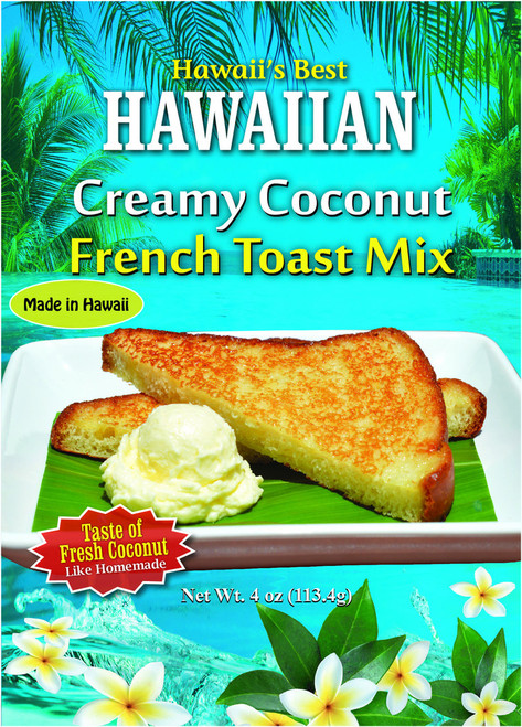 Creamy Coconut French Toast Mix