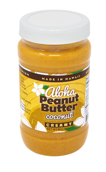 Aloha Bakehouse Peanut Butter - Coconut Flavor