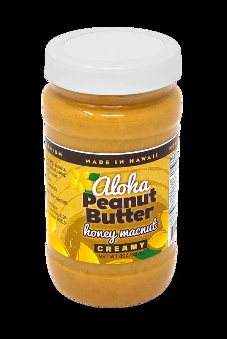 Aloha Bakehouse Peanut Butter - Honey Macadamia Nut Flavor