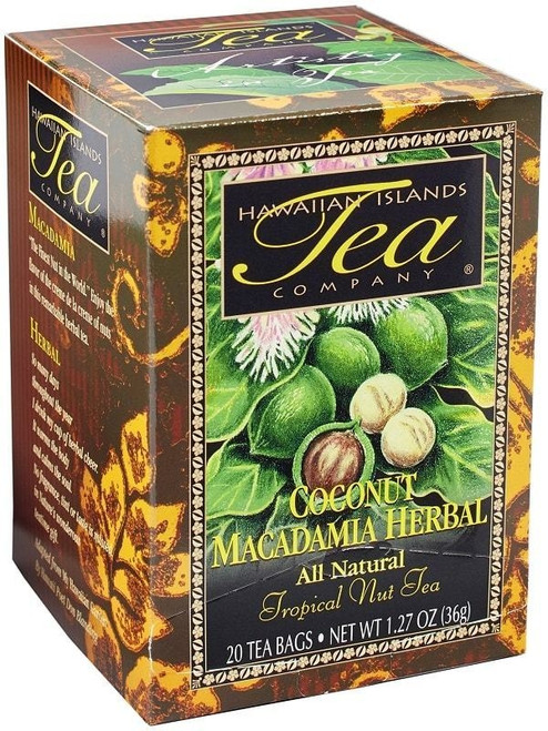 Hawaiian Island Tea - Coconut Macadamia Herbal