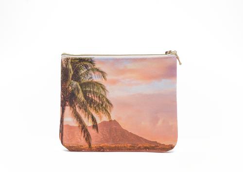 ENSO Small Clutch Bag in Diamond Head design