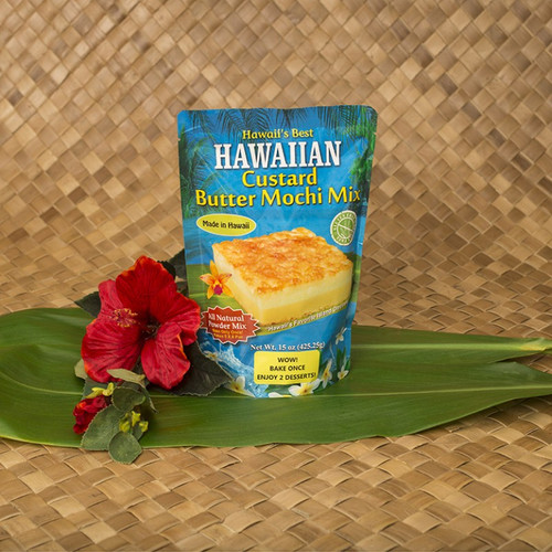 Hawaiian Custard Butter Mochi Mix