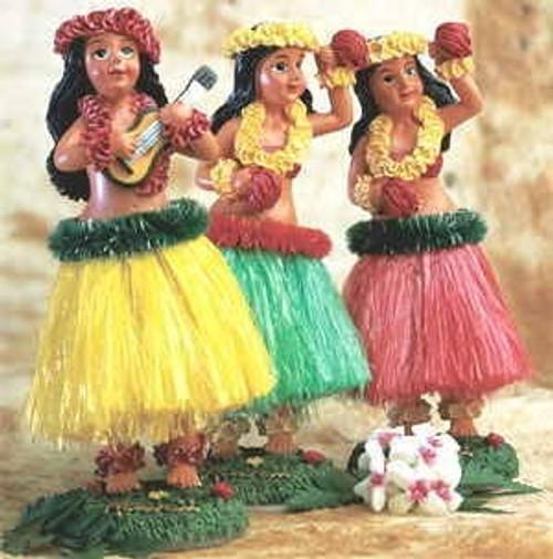 Sweet Kealoha Wiggly Hula Doll