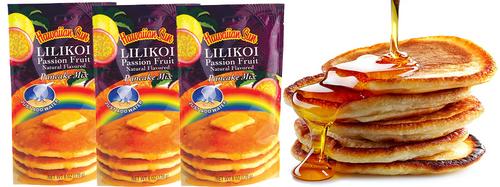 Hawaiian Sun Lilikoi Passion Fruit Pancake Mix 3 Pack