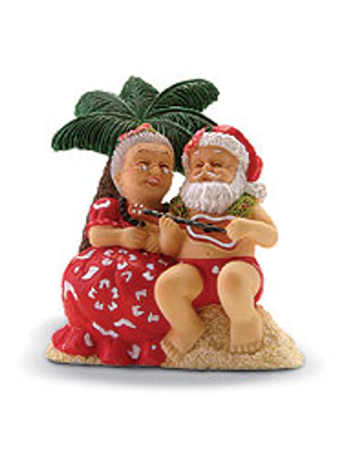 Christmas Ornament- Serenading Santa