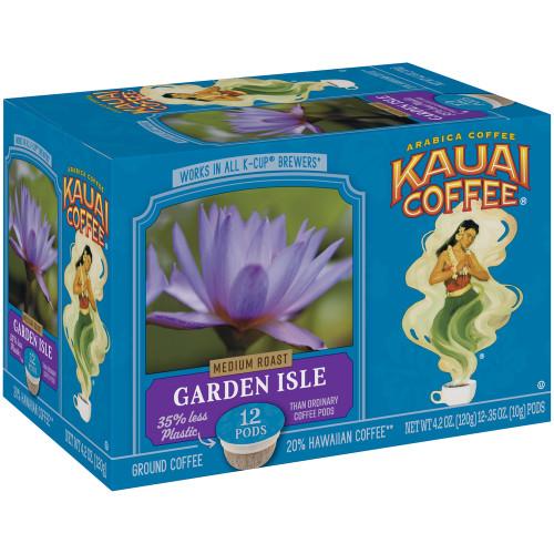 100% Kauai Single Serve K-Cup Coffee - Garden Isle