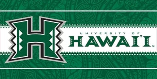 University of Hawaii Velour Beach Towel