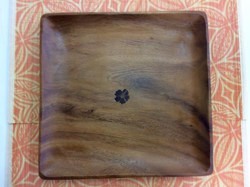 Tropeco® Monkeypod Wood Large Square Plate