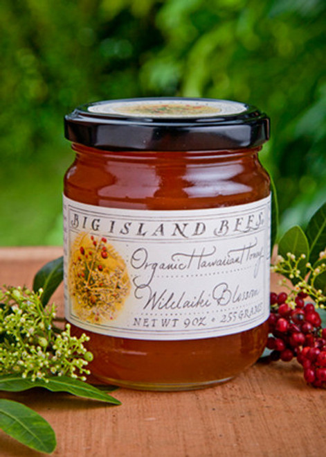Big Island Bee's Wilelaiki Blossom Organic Honey