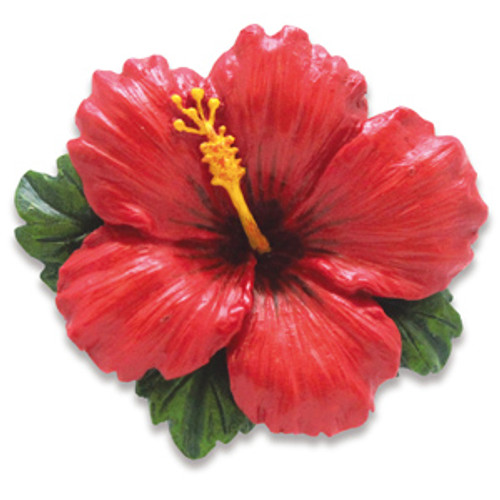 Christmas Ornament - Hibiscus Red
