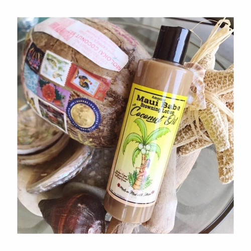 Maui Babe Browning Lotion with Coconut Oil