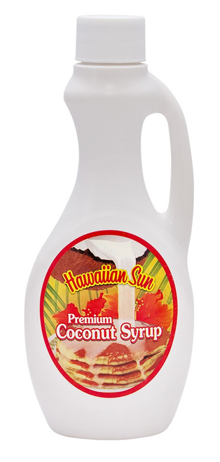 Hawaiian Sun Premium Coconut Syrup