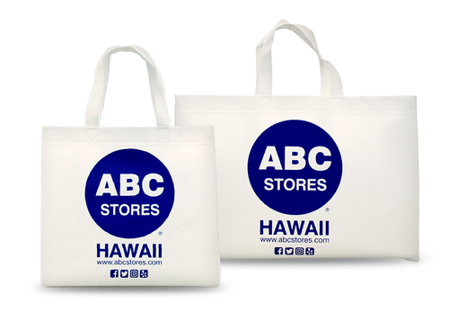 ABC REUSEABLE SHOPPING BAGS