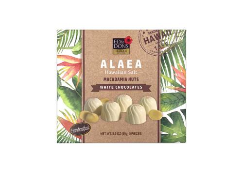 Ed & Don's Alaea Salt White Chocolate Covered Macadamia Nuts