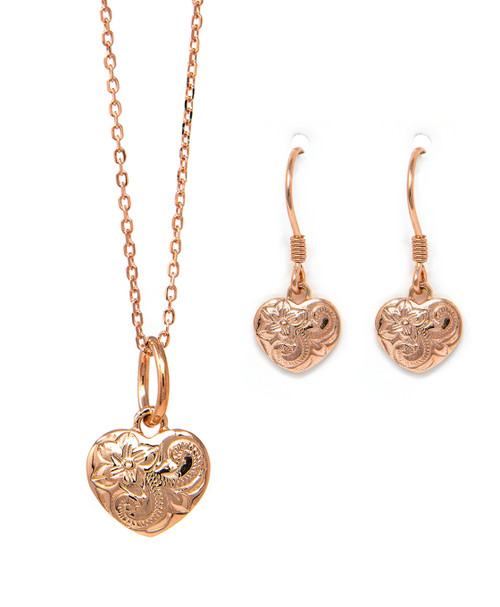 Moana Ipo Jewelry Set in Rose Gold