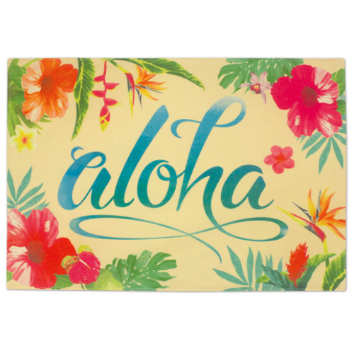 Aloha Floral Front