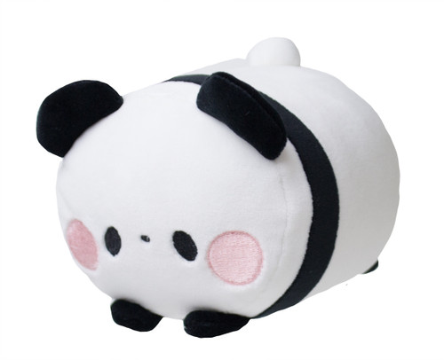 Mochi Fuwa Plush in Black Panda design
