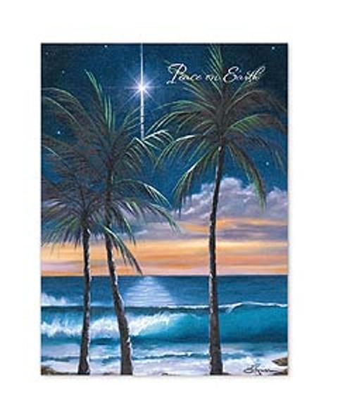 Christmas Card in Peaceful Earth design