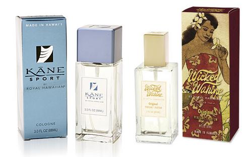 Aloha Nui Loa Fragrance Collection - Kane Sport Cologne and Wicked Wahine Perfume