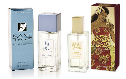 Aloha Nui Loa Fragrance Collection - Kane Sport Cologne and Wicked Wahine Perfume