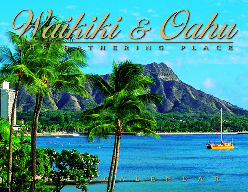 Hawaiian Designed Wall Calendars - 2021 Waikiki and Oahu