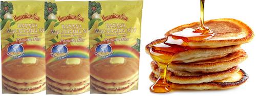 Hawaiian Sun Banana Macadamia Nut Pancake Mix 3 Pack