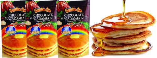 Hawaiian Sun Chocolate Macadamia Nut Pancake Mix 3 Pack