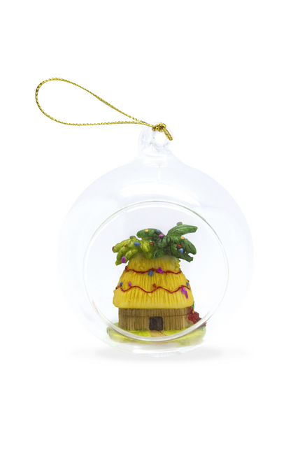 Glass Window Christmas Ornament - Christmas Shack