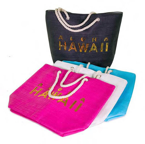 Island Glamour Sequin Tote Bags