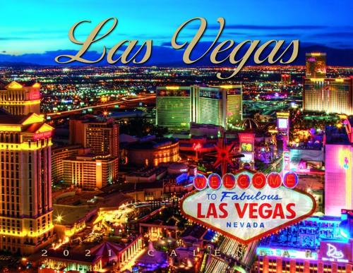 2021 Las Vegas Scenic Wall Calendar