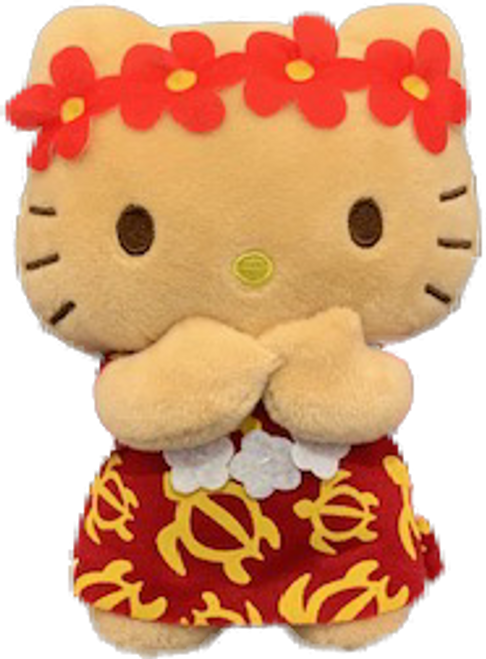 Hello Kitty - Plush 6 inch in Blown Kiss design