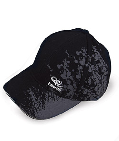 Cap - Splash design in black color