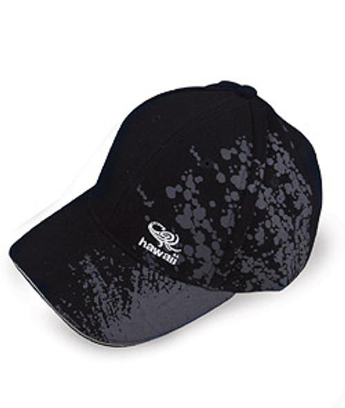 Cap - Splash design in black color