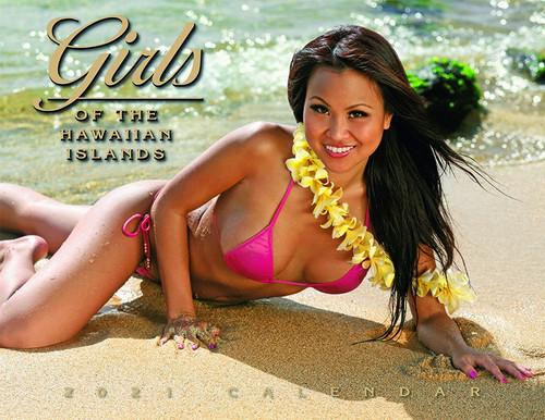Hawaiian Designed Wall Calendars - 2021 Girls of Hawaii