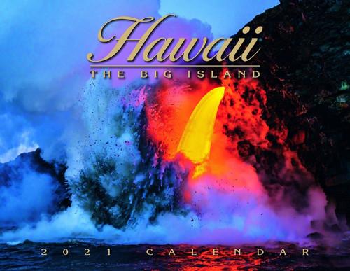 Hawaiian Designed Wall Calendars - 2021 Hawaii Island