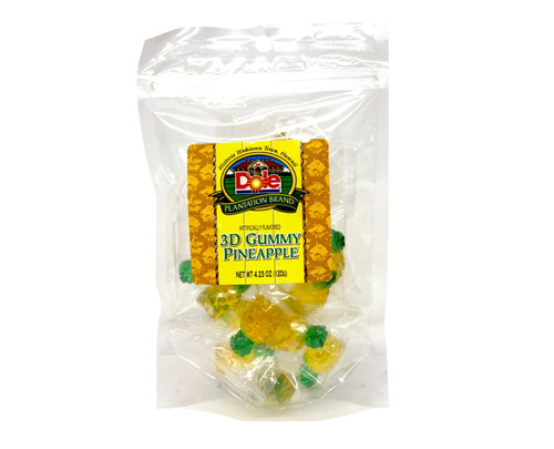 Dole Plantation 3D Gummi Pineapples