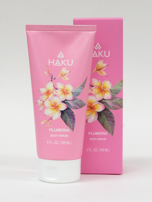HAKU - Body Serum 5 oz in Plumeria scent